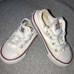 Converse Shoes - White Chuck Taylor Converse All stars